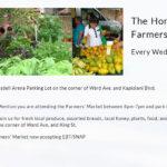 ホノルル ファーマーズ マーケット ブレイスデル センター(Honolulu Farmer's Market)