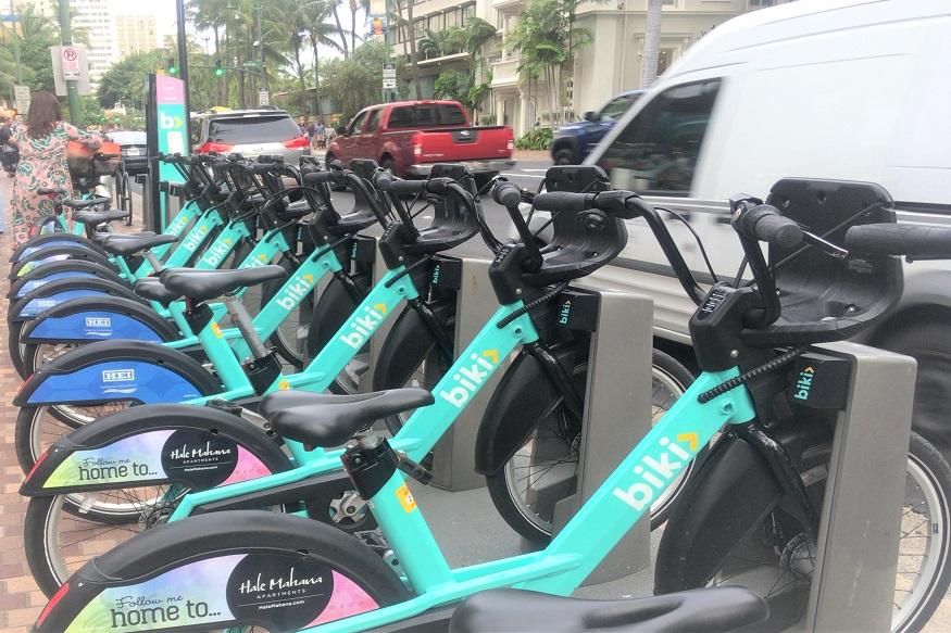 ハワイで手軽にサイクリング。便利でお得なレンタルシェア自転車「BIKI」を利用しよう!