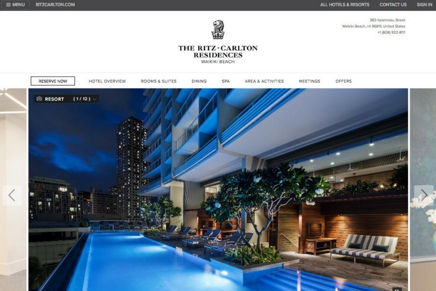 リッツカールトンレジデンス(The Ritz-Carlton Residences)