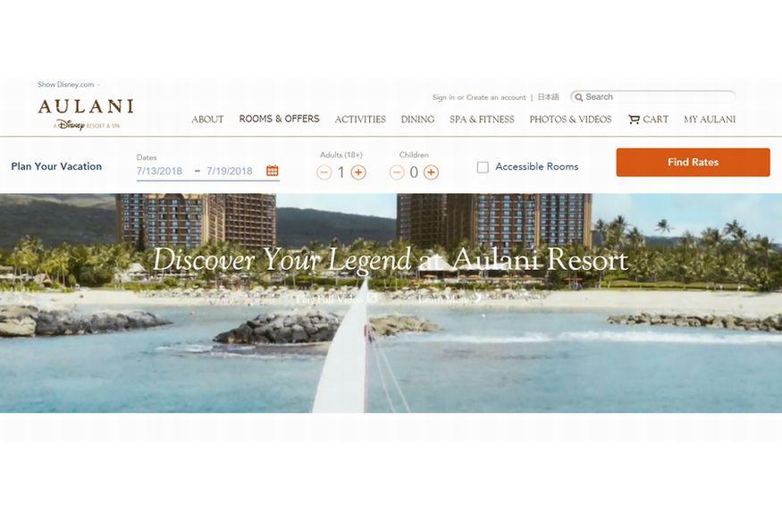 アウラニ・ディズニー・リゾート(AULANI A Disney Resort & Spa)