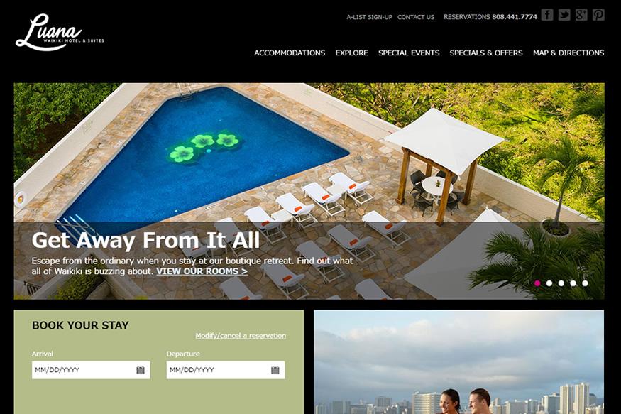 ルアナ ワイキキ ホテル&スイーツ(LUANA WAIKIKI HOTEL&SUITES)