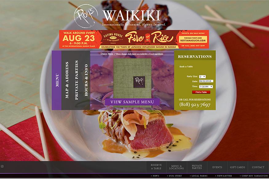 ロイズ・ワイキキ(Roy's Waikiki)